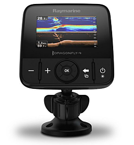 Chartplotter GPS com Sonar Integrado Dual Channel CHIRP Downvision Dragonfly 4 PRO - [Raymarine]