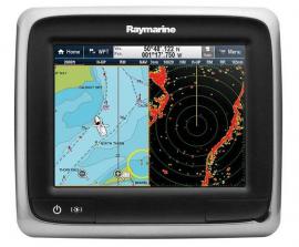 GPS com Sonda e Radar Raymarine A67 Acompanha Carta Navionics Original
