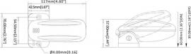 Automático com Esfera para Bombas de Porão Até 18 Amperes Seaflo
