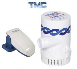 Kit Super Bomba de Porão TMC 1000 Gph 12v com Automático - [Kit Bomba de 1000 + Automático]