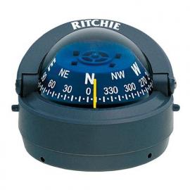 Bussola Maritima Ritchie Explorer de Sobrepor cor Cinza com Luz Noturna - [S-53G]