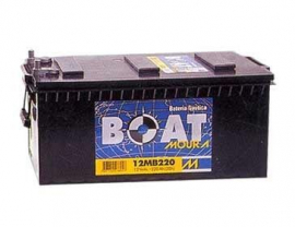 Bateria Moura Boat 220 Amp 12v