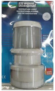 Luz de Top Dupla com Atracação e Alcançado Luz Estrobo e Continua - [Aqua Signal]