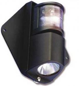 Luz de Mastro Cruzeta Combinado com Deck para Veleiros 12v - [Cruzeta]