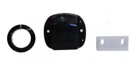 Fechadura de Porta com Click na cor Preta em ABS
