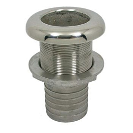 Saída ou Entrada de Costado em Aço Inox 2 Polegadas - [Aço Inox 316]