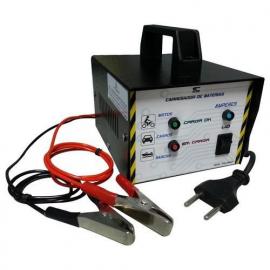 Carregador de Bateria Portátil 12v CB-15AT SC 127/220V Automático Para Carros, Motos, Lanchas
