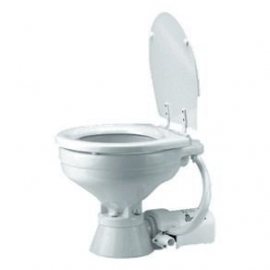 Toalete Vaso Sanitário Elétrico 12v Jabsco - Toalete P/ Barcos e Motorhomes - [JB0001073]