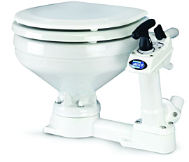Vaso Sanitário Manual Toalete P/ Barcos e Motorhomes Marca Jabsco mod. JB960816