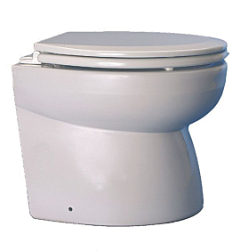 Toalete Vaso Sanitário Elétrico 12v Luxo Matromarine - [Oceans]