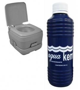 Solvente Biodegradável para Vaso Sanitário Químico - Nautika - [Nautika]
