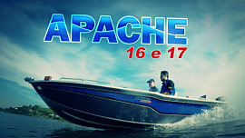 Lancha Alumínio Fluvimar Apache 16 | 17