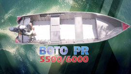 Barco Alumínio Fluvimar Boto PR 5500 | 6000