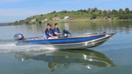 Lancha Alumínio Fluvimar Boto Plus 5000 | 5500 | 6000