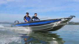 Lancha Alumínio Fluvimar Boto Plus Pesca 5000 | 5500 | 6000