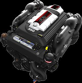 Motor de centro Mercruiser 4.5 L 250 HP Gasolina
