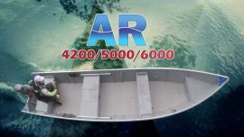 Barco Alumínio Fluvimar AR 4200 | 5000 | 6000