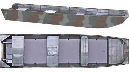 Barco Alumínio Fluvimar Chata Tilápia 5000