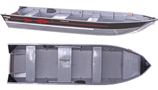 Barco Alumínio Fluvimar Semi Chata Piapara 6000