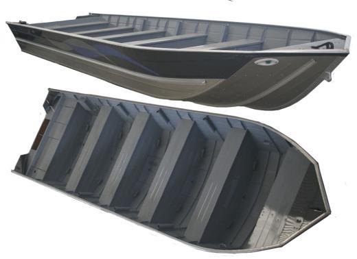 Barco Alumínio Fluvimar Semi-chata Piapara 7000