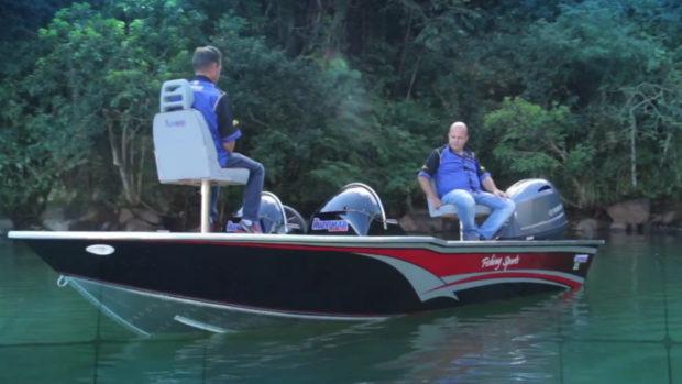 Lancha Alumínio Fluvimar Cherokee Fishing Sports 17 | 18 | 19