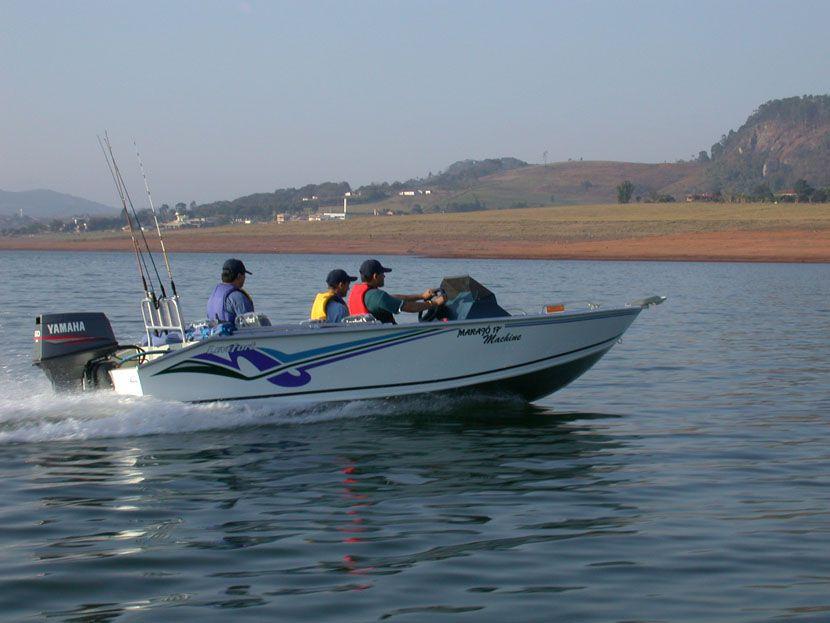 LANCHA DE ALUMINIO LEVEFORT MARAJO 17 FISH MACHINE