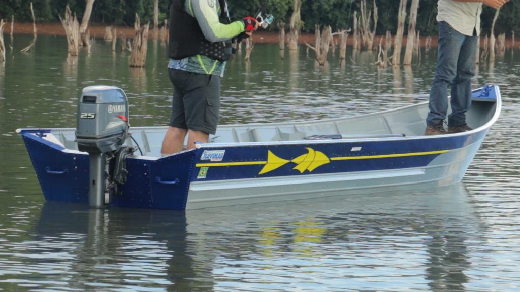 Barco Alumínio Fluvimar PR 5500 | 6000